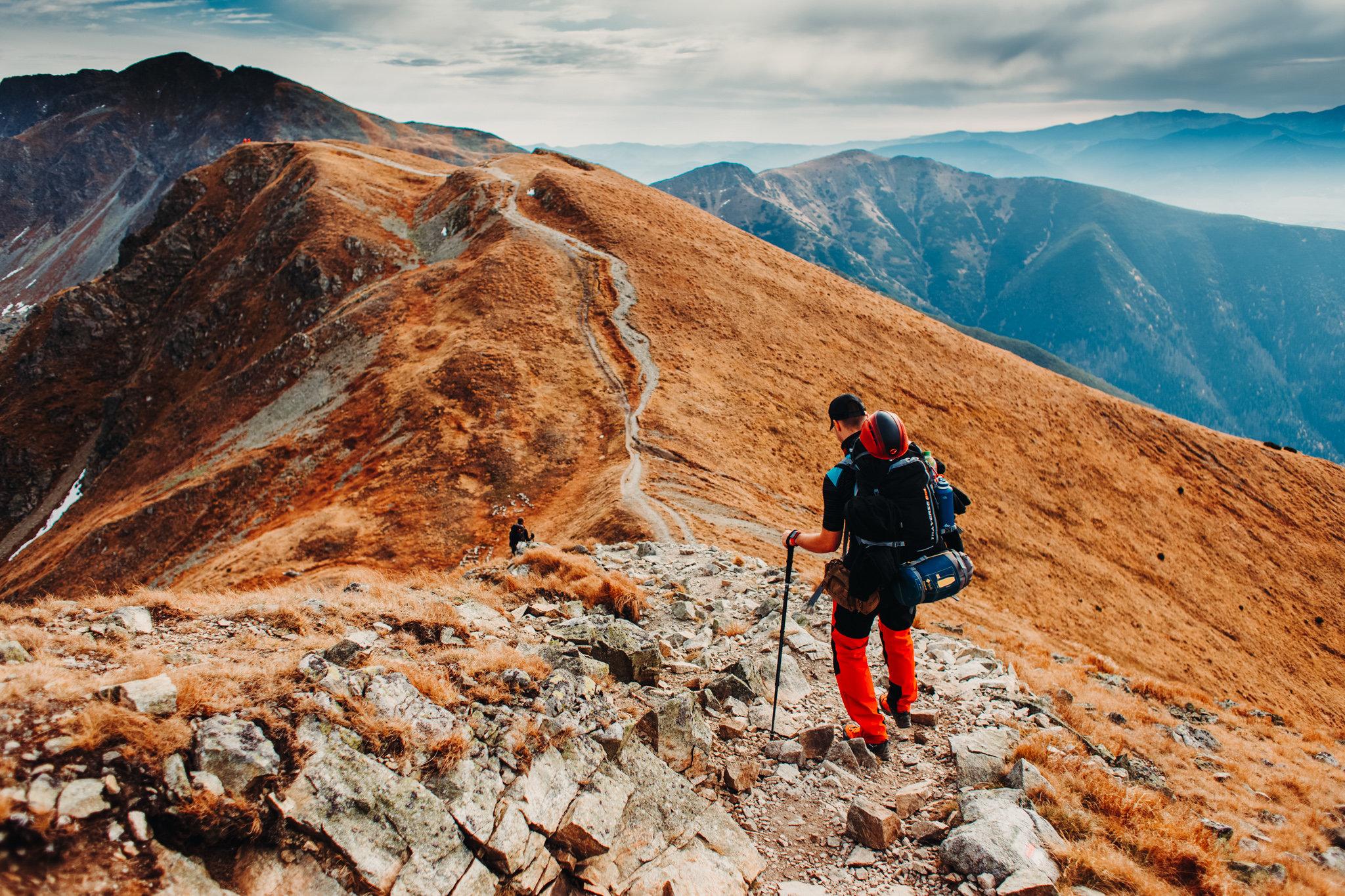 Trekking po całych Tatrach