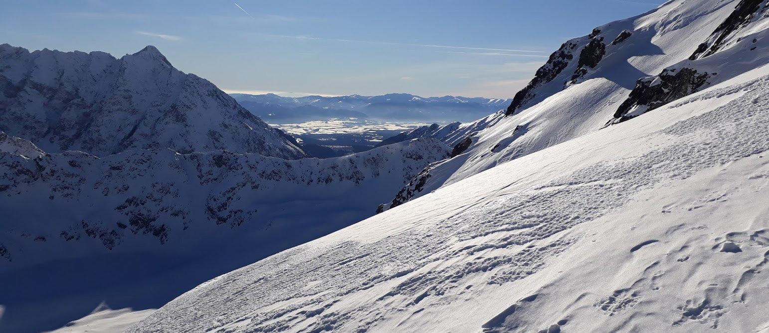 Zimowe wejście na Kozi Wierch